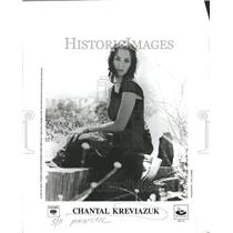 1911 Press Photo Chantal Jennifer Kreviazuk Musician So - RRR70281