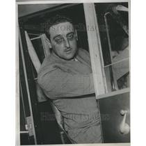 1932 Press Photo Frank Courtney Engineer Royal Flying