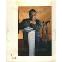 1992 Press Photo Tyree Guyton Michiganian of the Year