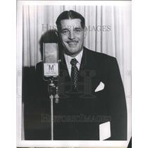 """1953 Press Photo Dud Williamson """"What the Name of that"""