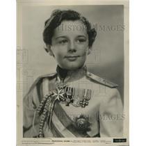 1936 Press Photo Freddie Bartholomew in Professional Soldier
