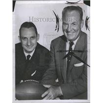 1956 Press Photo Harold Edward Red Grange Chicago Bears - RRR74045