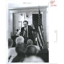 1991 Press Photo Sen Tom Harkin Democratic President So