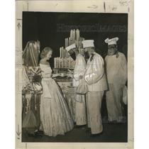 1948 Press Photo 78th Annual 12th Night Ball-Municipal Auditorium -Mardi Gras