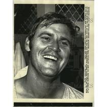 1971 Press Photo Denny McLain, who made his Washington debut 4/9, is all smiles.