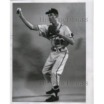 1958 Press Photo Don Kaiser obtained in recent trade with Chicago Cubs.