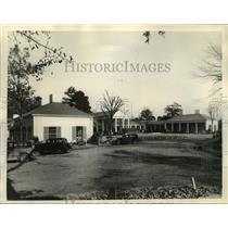 1933 Press Photo View of Roosevelt Health Foundation in Warm Springs, Georgia