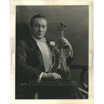 1934 Press Photo Irvin Rubrstein orchestra leader
