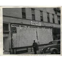 1945 Press Photo Abilene, Kansas awaits return of local, General Eisenhower