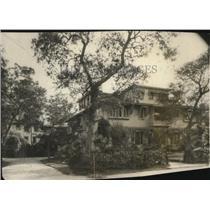 1923 Press Photo The Rockefeller home at Ormond, Fla.