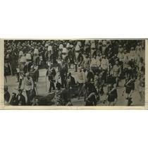 1926 Press Photo Emperor Francis Joseph, Corpus Christi Day procession in Vienna