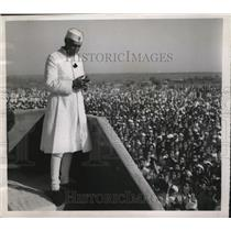 1952 Press Photo Prime Minister Nehru at Parnera, site of a dye and drug factory