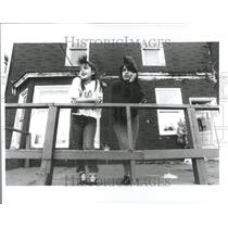 1991 Press Photo Gang Project Girls Gangs