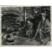 1956 Press Photo Georgia-Misc-Old Folks At Home-Old-Fashioned Way of Living.