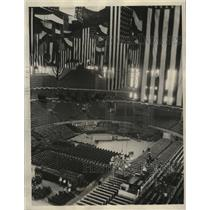 1932 Press Photo The convention scene of G.O.P. in the Chicago Stadium