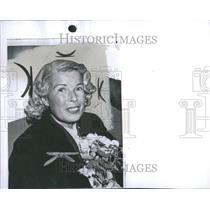 1961 Press Photo Mildred Elizabeth Gillars Broadcaster