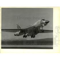 1967 Press Photo B-1 Bomber Airplane - cva37705