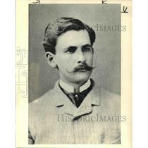 1887 Press Photo Albert A Michelson - cva38078