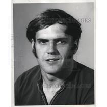 1971 Press Photo William Gela, Reserve quarterback - cvb77174