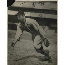 1928 Press Photo New Indian shortstop Jack Tavener - cvb77303