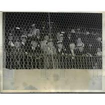 1935 Press Photo Game in Washington Between Teams Compose of Congress & Reports