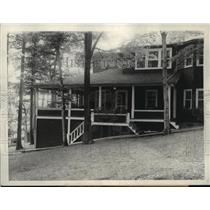 1926 Press Photo Home of Max Winslow, Alexandria Bay, United States - mja35848