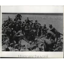 1962 Press Photo World War I Wisconsin National Guard - mja36164