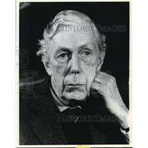 1979 Press Photo Anthony Blunt-First Public Appearance of the Russian Spy