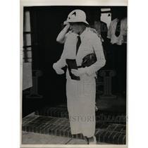 1933 Press Photo Betty Deeds, Wife of Captain Edward F.M. Deeds in Kansas City