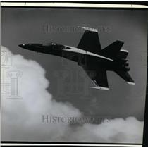 1988 Press Photo Navy Blue Angels-Rose Festival Airshow - orb80714
