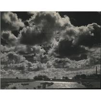 1945 Press Photo Clouds. - mjx20530