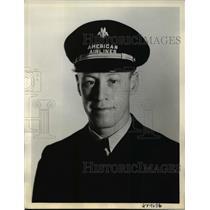 1938 Press Photo Second Pilot James B. May - nef33668