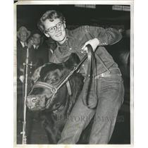 1955 Press Photo Stock Show Amphi theatre - RRR13473