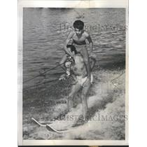 1948 Press Photo Water Skiing - RRR56949