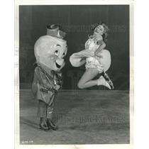 1950 Ice Capade Press Photo