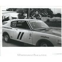 1983 Press Photo Gary Witzenburg Datsun sparkplug car