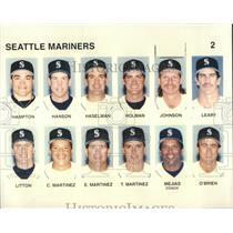 1996 Press Photo Seattle Mariners - RRR93919