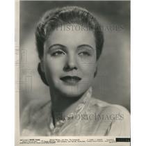 1936 Press Photo Actress Jean Muir