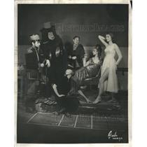 1959 Press Photo Eugenie Leontovich Star Director