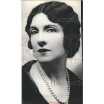 1928 Press Photo Mary Nash American Actress Dramatic