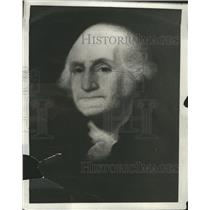 1931 Painting Of George Washington Press Photo