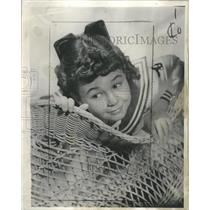 1936 Press Photo Young Actress Jane Withers