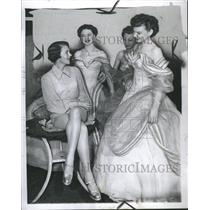 1950 Press Photo Ruby