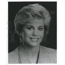 1993 Press Photo Kriti Krueger Newscaster