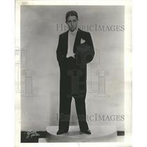 1940 Press Photo Bert Wheeler Comedian Actor