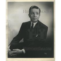 1950 Press Photo Director Erich leinsdorf Autumn Title