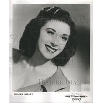 1950 Press Photo Lillian Shelby American Actress