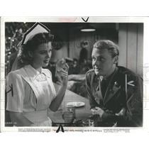 1942 Press Photo World War Major Actor Television Film