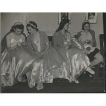 1941 Press Photo Century Dress Opera Newyork City Dance - RRR86253