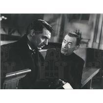 1943 Press Photo Cary Grant Vladimir Sokoloff My Lucky